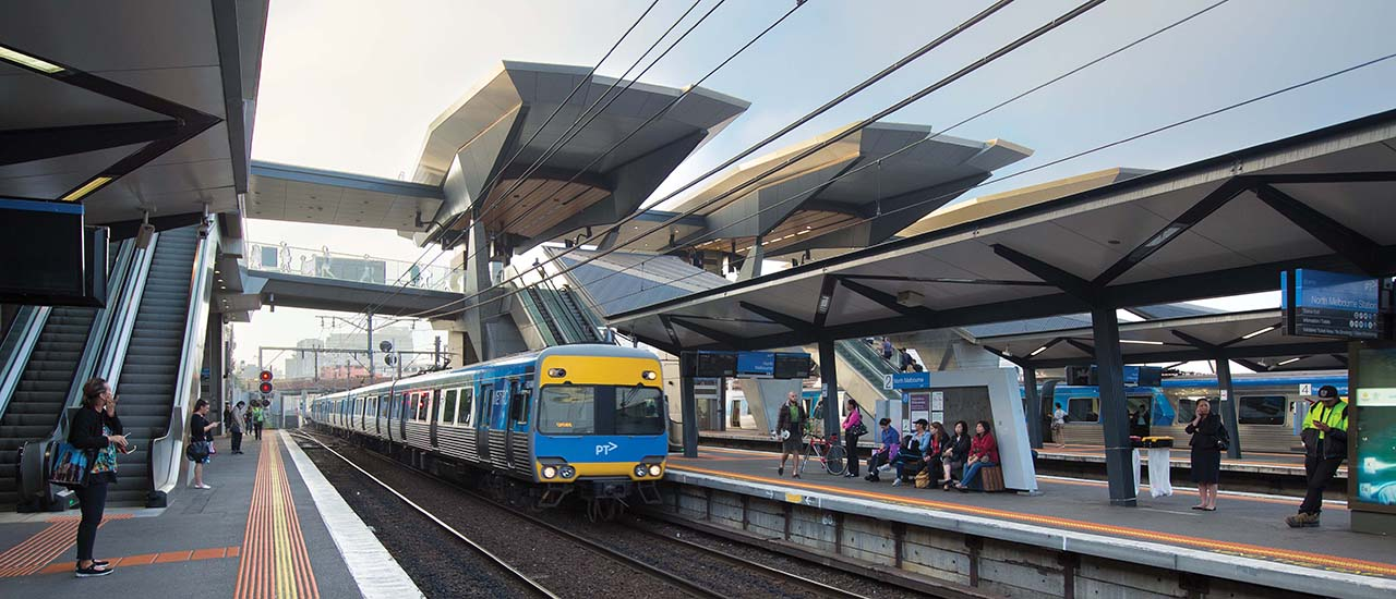 North Melbourne Station