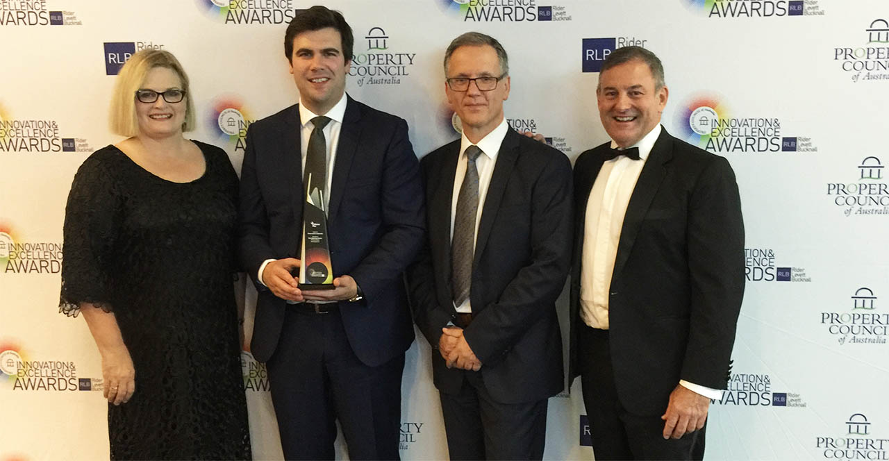 Glen Waverley wins Property Council of Australia Award
