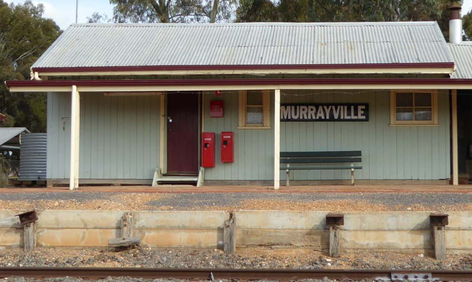 Murrayville Station building
